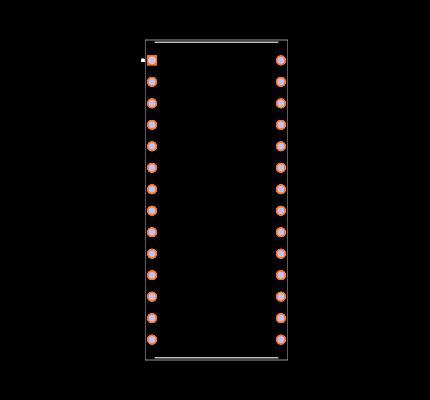 MAX3480EBCPI Footprint