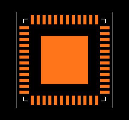 MC34VR5100A1EP Footprint