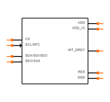 LPS25HBTR Symbol