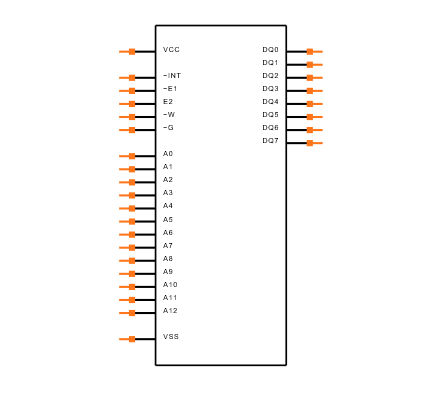 M48T08-100PC1 Symbol