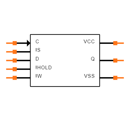 M95M01-DFMN6TP Symbol