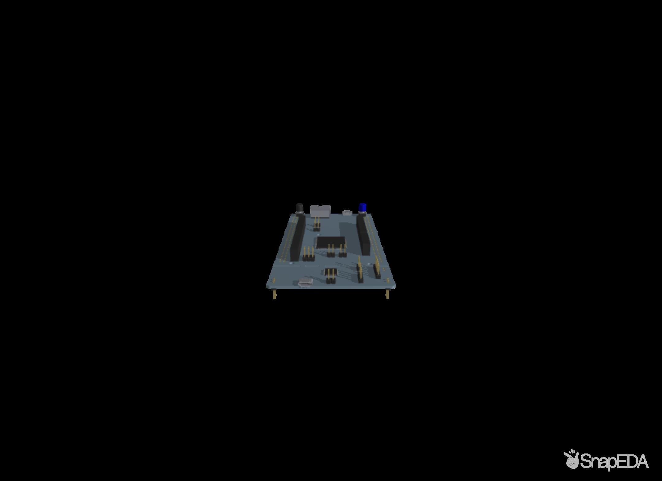 NUCLEO-F429ZI 3D Model