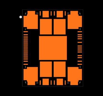 POWERSTEP01 Footprint