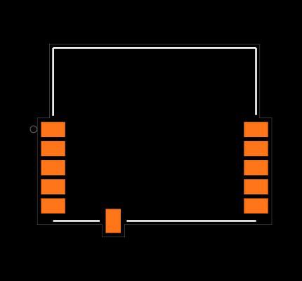 SPBTLE-RF footprint & symbol by STMicroelectronics   SnapEDA