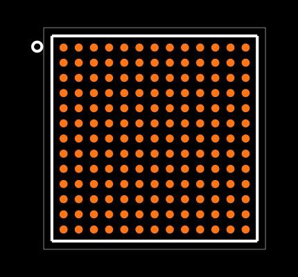STA8088EXG Footprint
