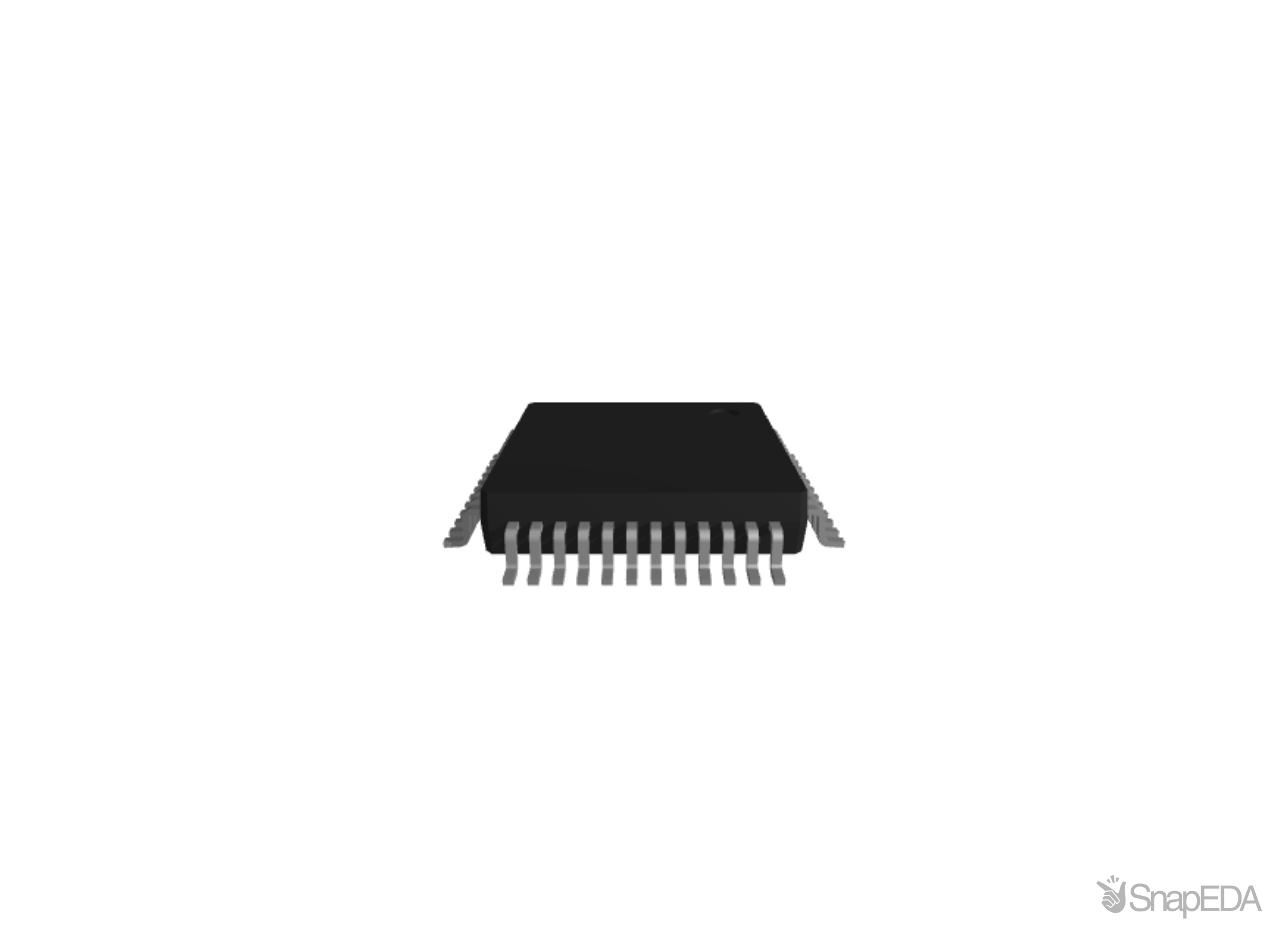 STM32F103C8T6 3D Model
