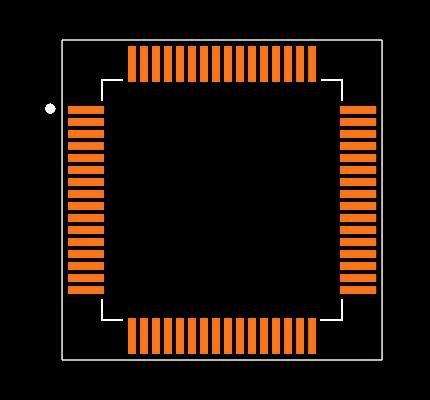STM32F405RGT6 Footprint