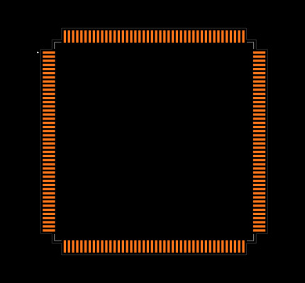 STM32F407IGT6 Footprint