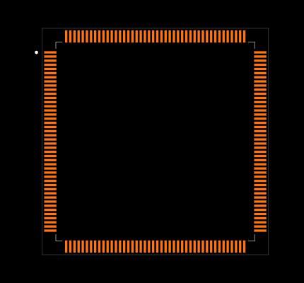 STM32F407IGT7 Footprint