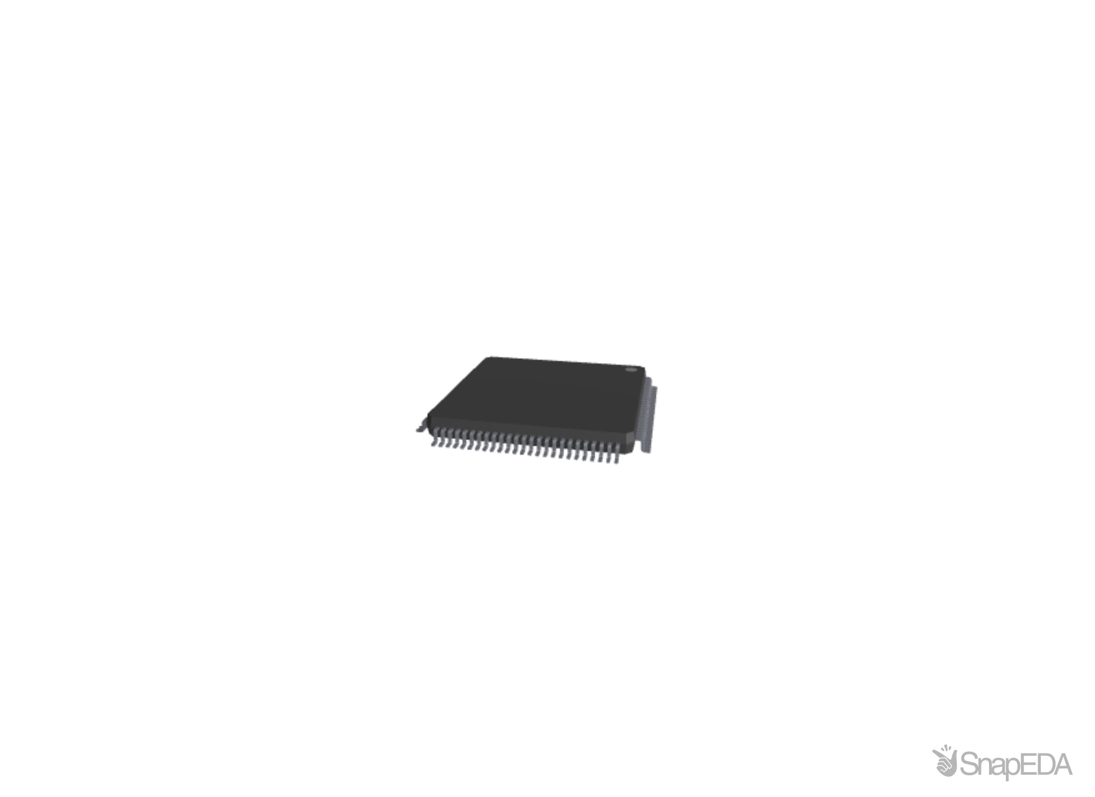 STM32F407VET6 3D Model