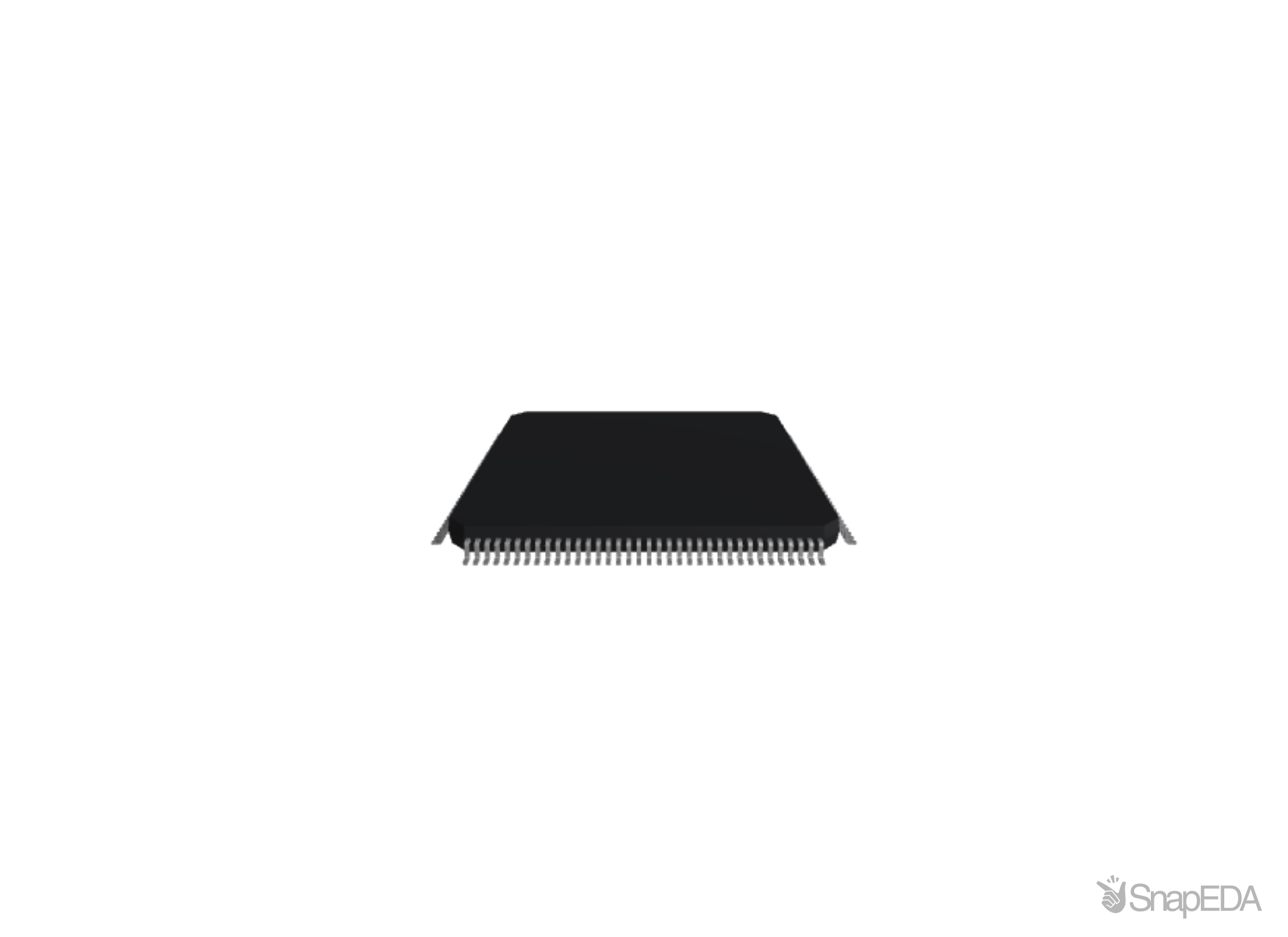 STM32F407ZET7 3D Model