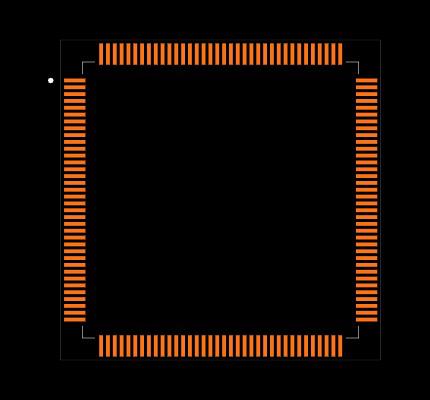 STM32F407ZET7 Footprint