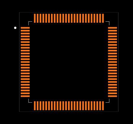STM32F417VG Footprint