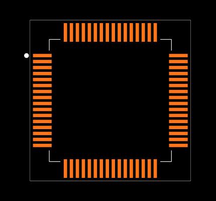 STM32F446RET6 Footprint