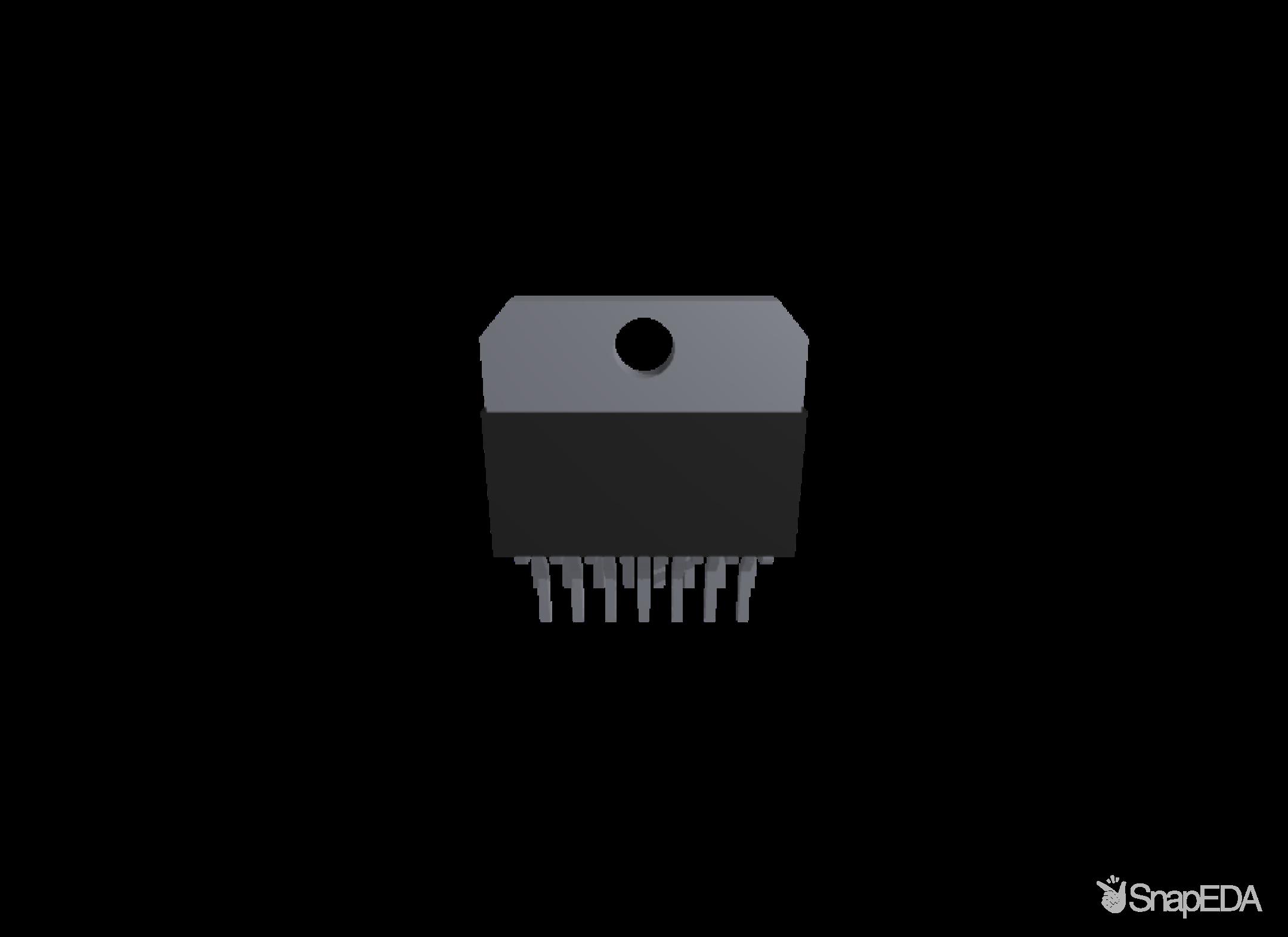 TDA7297 3D Model