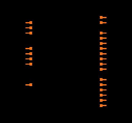TDA7388 Symbol