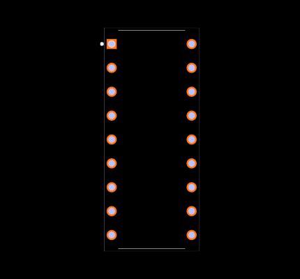 ULN2803A Footprint