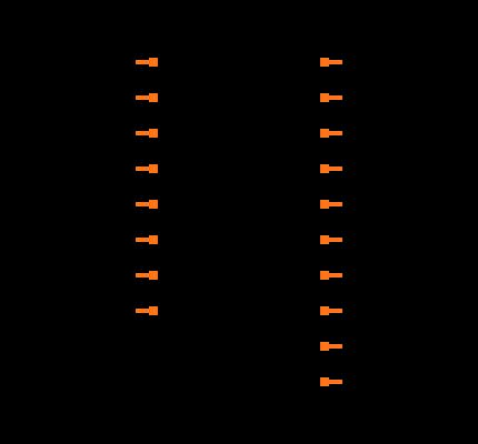 ULN2803A Symbol