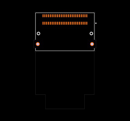 ARF6-16-S-RA-FR Footprint