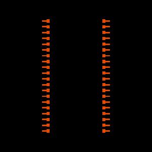 ESW-120-44-F-D Symbol