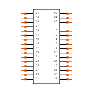 FTR-116-57-G-D-08 Symbol