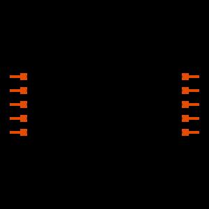 FTS-105-03-FM-DV-P-TR Symbol
