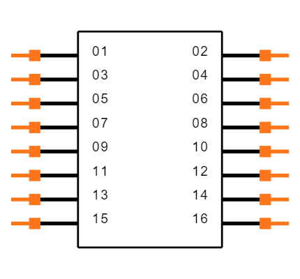 FTSH-108-01-L-DV-P-TR Symbol