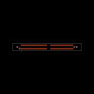 HSEC8-160-01-L-DV-A-BL Footprint