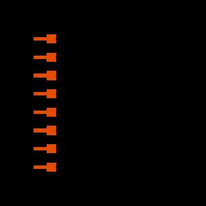 HW-08-10-L-S-400-SM Symbol