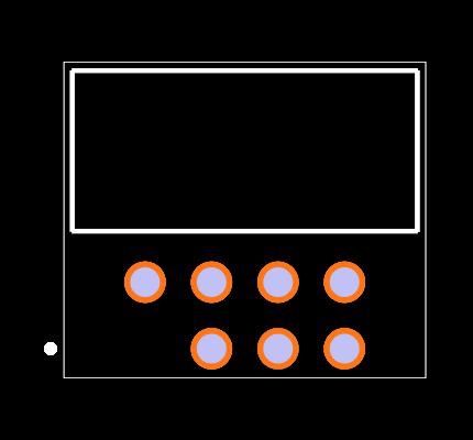 LTMM-104-02-L-D-RA-01 Footprint
