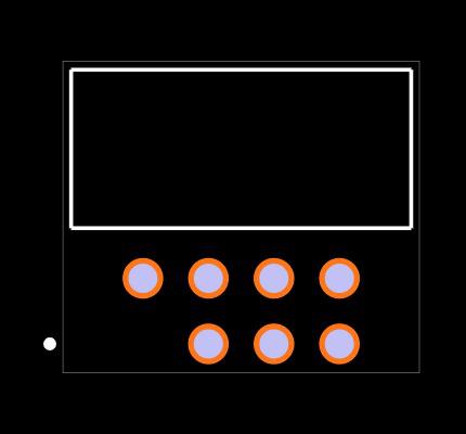 LTMM-104-02-T-D-RA-01 Footprint
