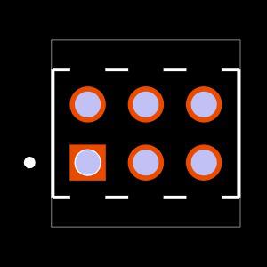 MTMM-103-10-S-D-000 Footprint