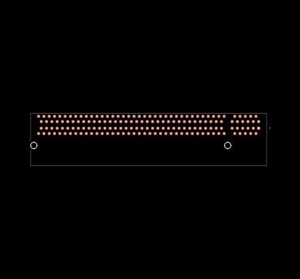 PCIE-164-02-S-D-RA Footprint