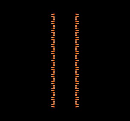 PCIE-164-02-S-D-RA Symbol