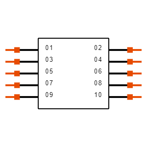 SSM-105-L-DV-BE-K-TR Symbol