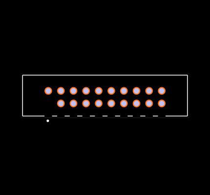 STMM-110-02-F-D-01 Footprint
