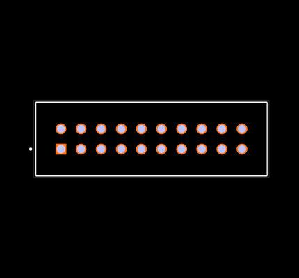 TSS-110-01-G-D Footprint