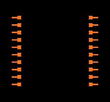 TSS-110-01-G-D Symbol