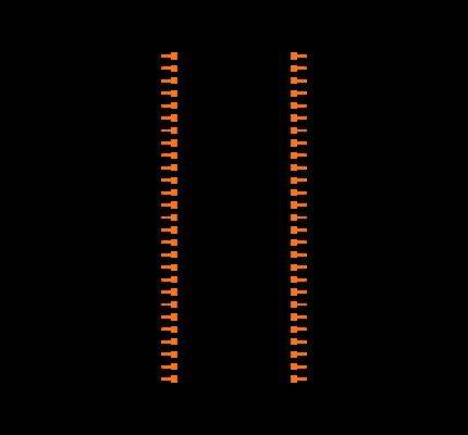 FTMH-127-03-L-DV Symbol