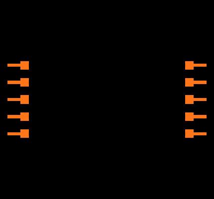 FTSH-105-01-L-DH-C-TR Symbol