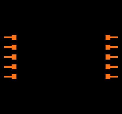 FTSH-105-01-S-DV-P-TR Symbol