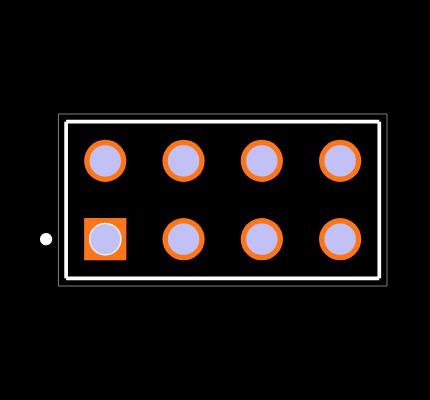 TSW-104-07-T-D Footprint