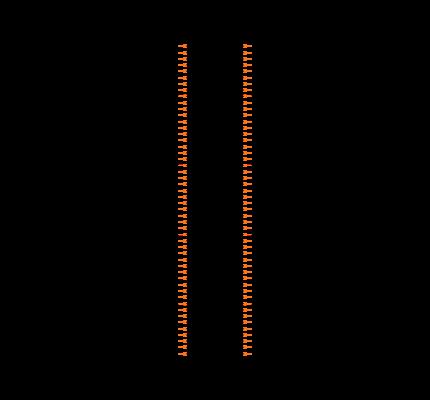 TSW-150-08-L-D-RA Symbol