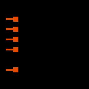 USB-B-S-S-B-VT-R Symbol