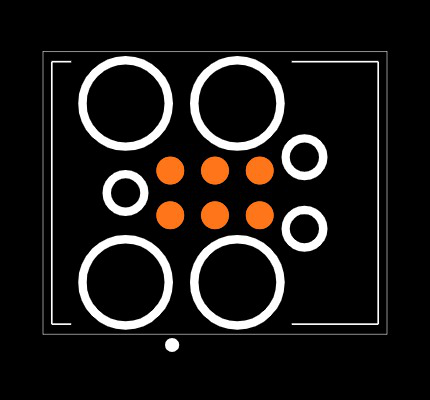 8.06.16 J-LINK 6-PIN NEEDLE ADAPTER Footprint