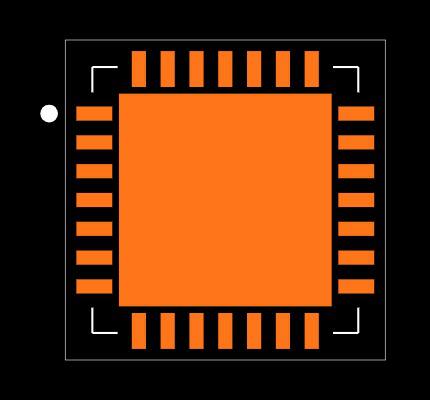 SX1278IMLTRT Footprint
