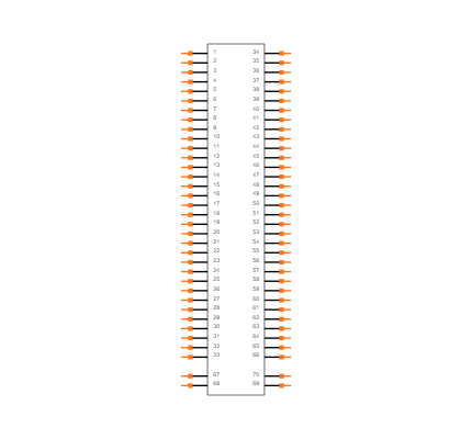HL SNAP-IN BASE_6000595 Symbol