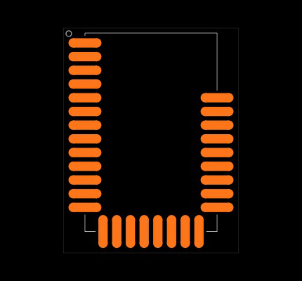 BLE112-A-V1 Footprint