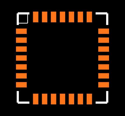 C8051F327-GMR Footprint