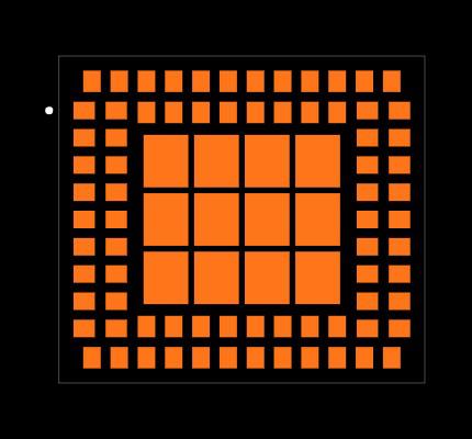 SIM800L footprint & symbol by Simcom | SnapEDA